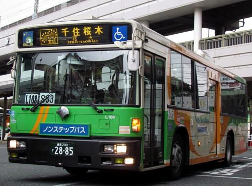 7/19、足立花火大会による臨時運転