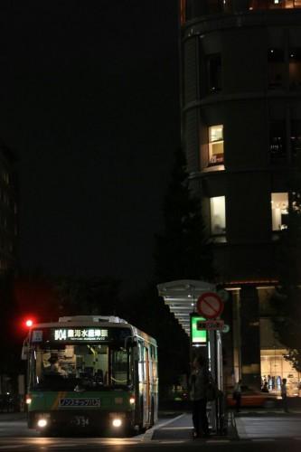 9/21、東京駅丸の内南口の乗り場変更