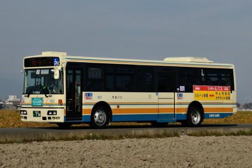 元都営バス 有償譲渡復活により佐賀市で第一号が運用開始