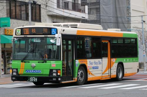 東京マラソン錦13折返枝川Z507