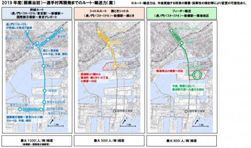 東京都、環2BRTの中間整理公表。既存バスの燃料電池導入も