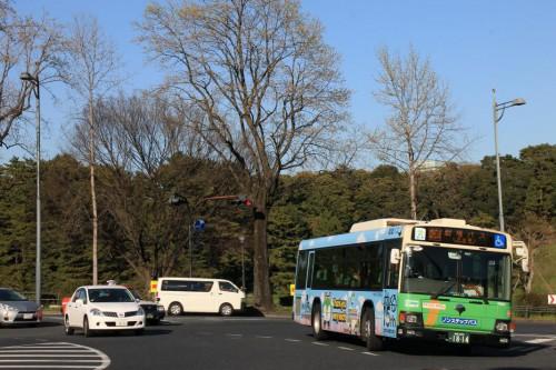 改編と同時にダイヤビル送迎・劇場バスも移管