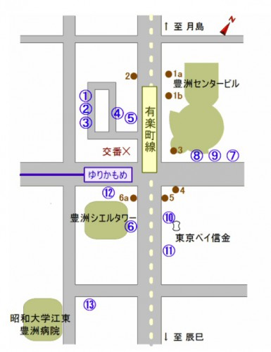 豊洲駅ロータリー再オープン