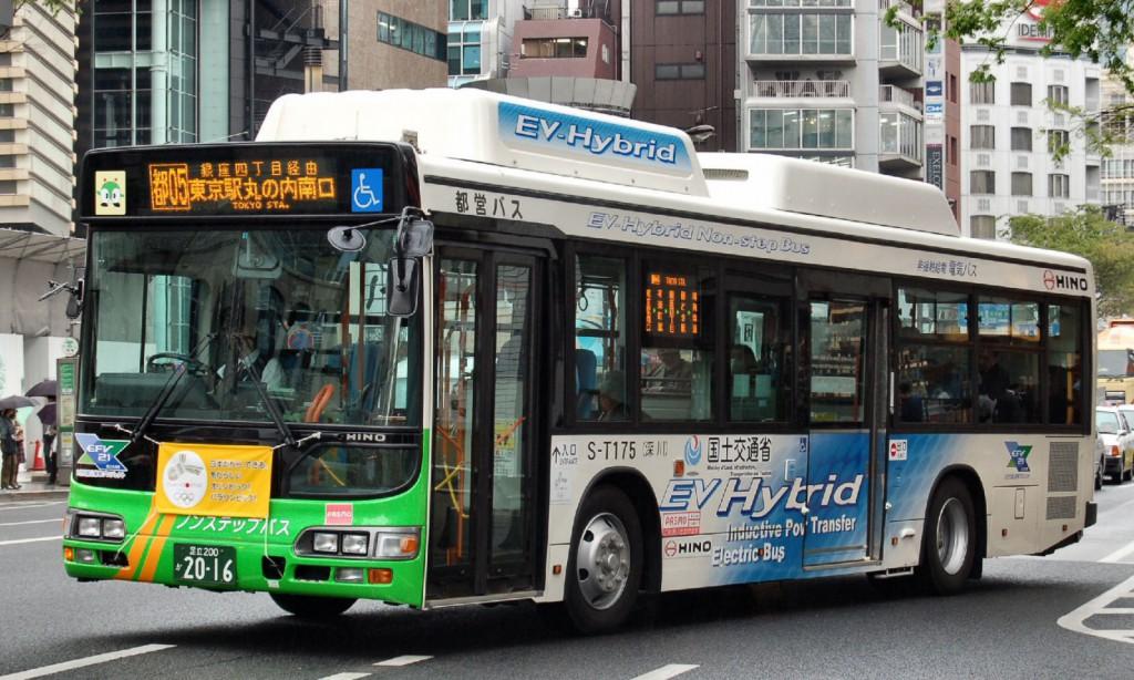 低公害-IPTハイブリッドバス