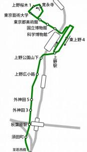 上野の山を周遊した[上26]