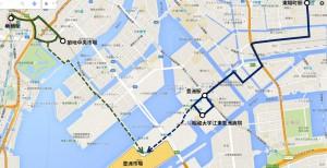 豊洲市場開所により[市01]延伸、東陽町から路線新設の見込み