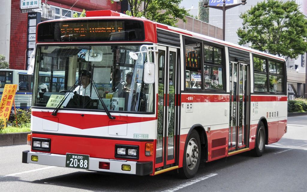 宮城交通(ミヤコーバス)/日野/KC-HU2MLCA