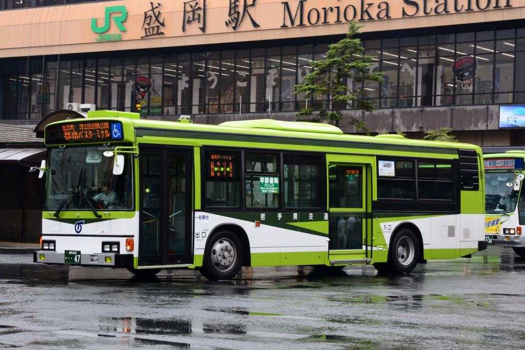 岩手県交通/日野/KC-HU2PMCE