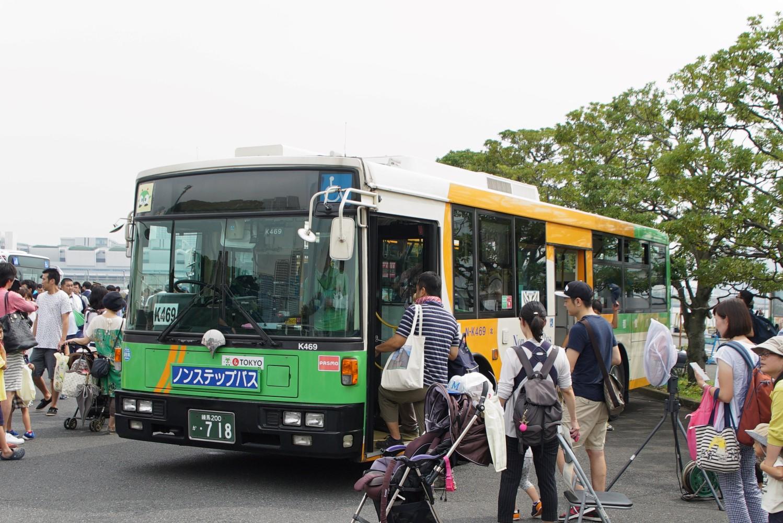 9/17、晴海バス祭りを開催
