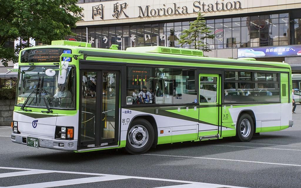 岩手県交通/いすゞ/KL-LV834L1