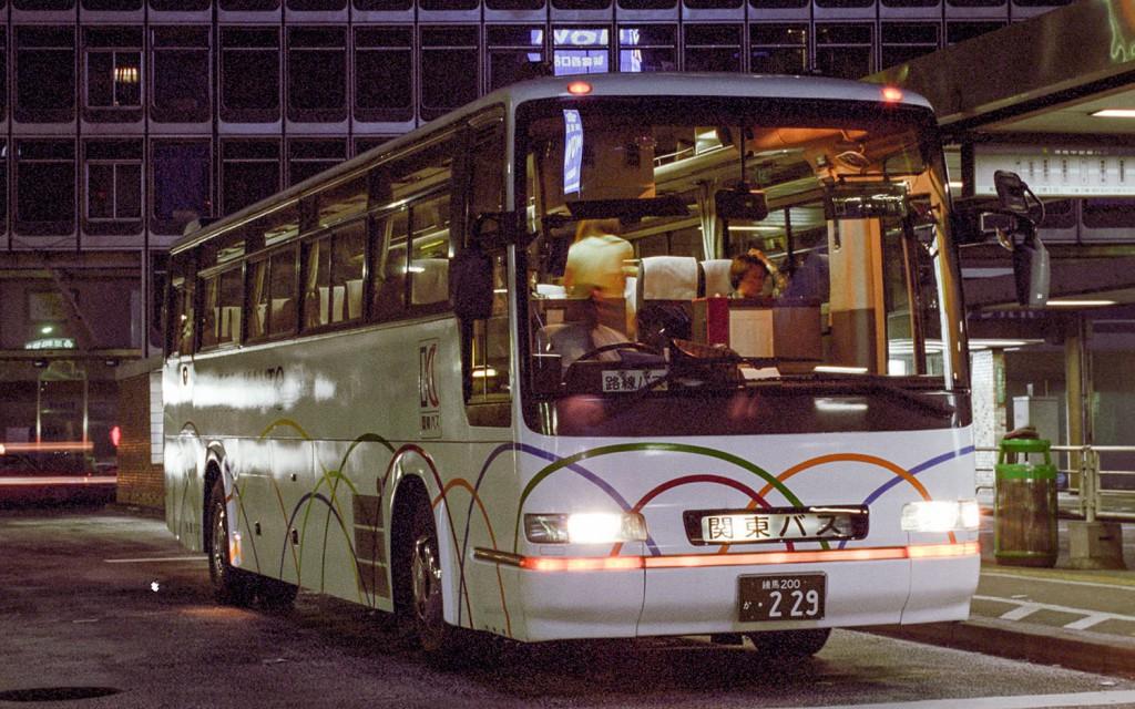 関東バス/日野/貸切