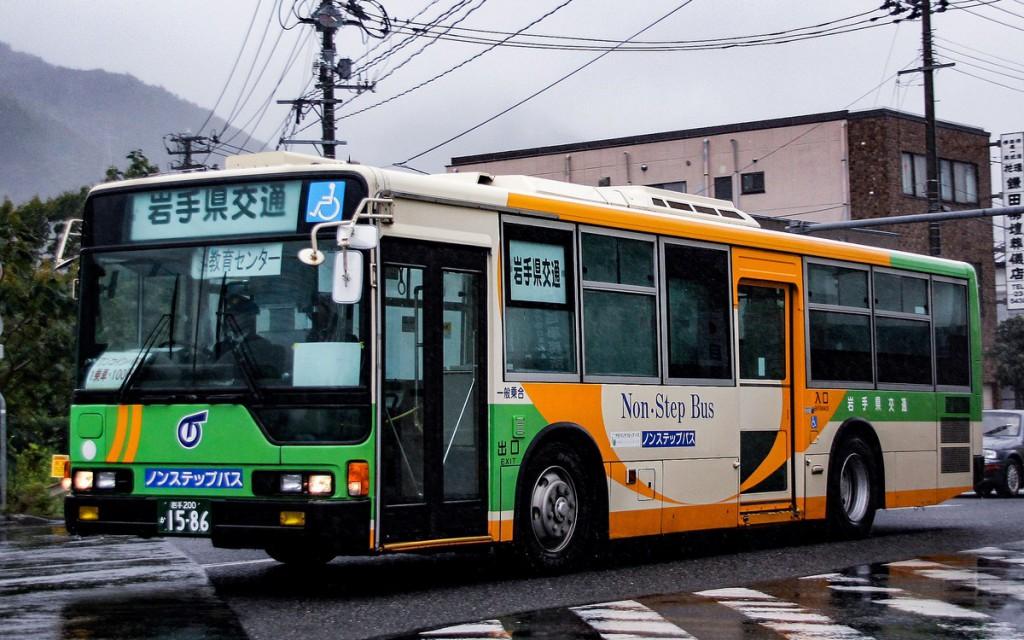岩手県交通/三菱/KC-MP747K