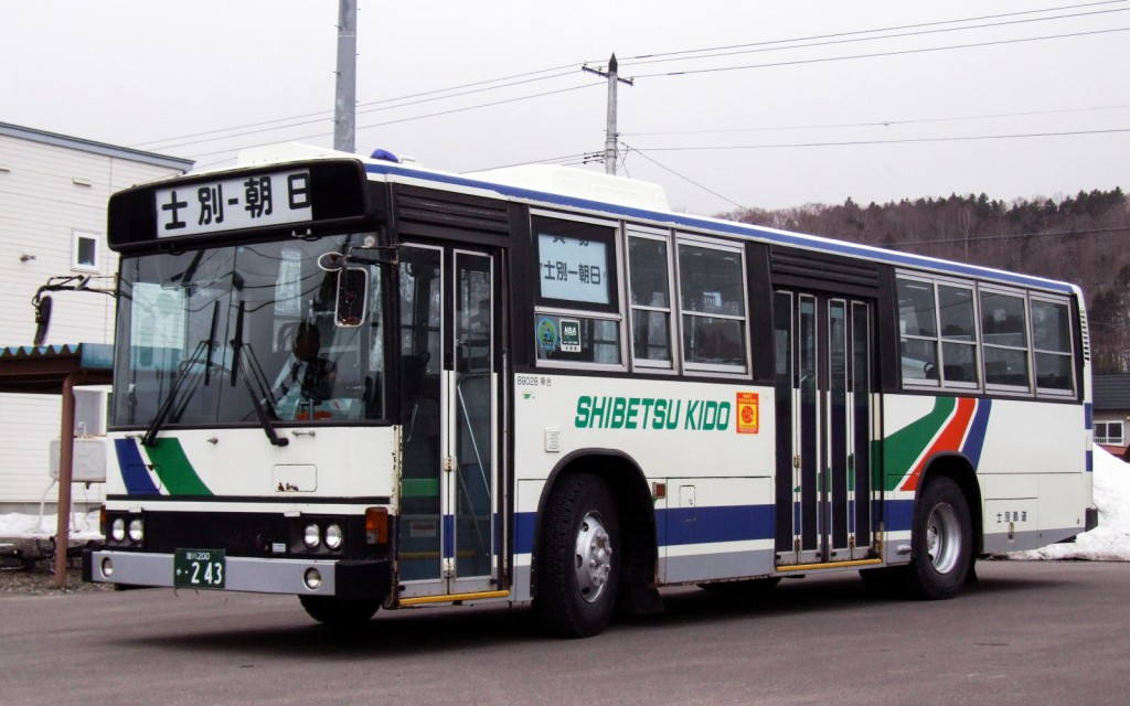 士別軌道/日野/P-HT233BA