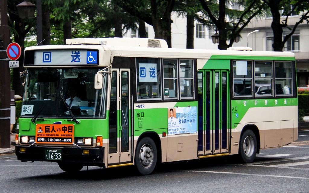 岩手県交通/いすゞ/KC-LR333J