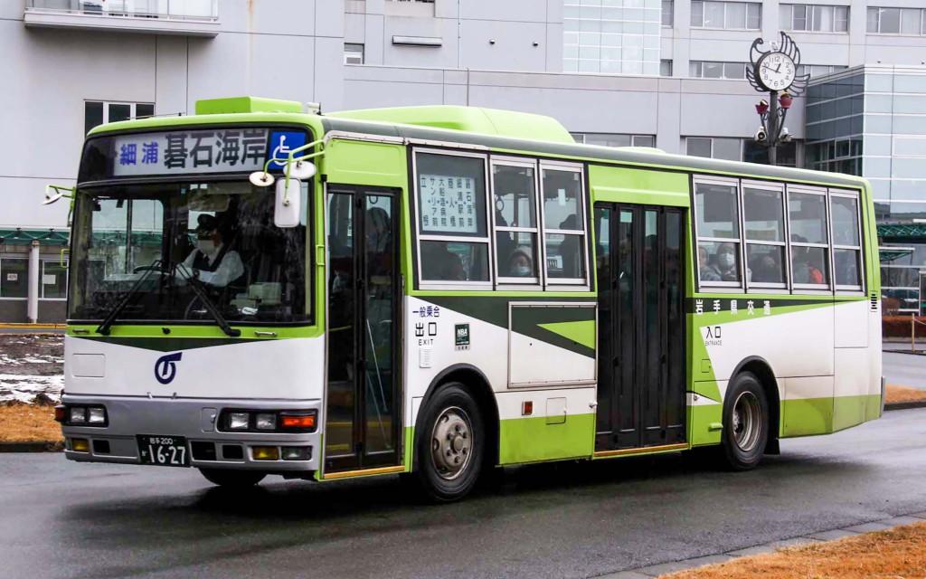 岩手県交通/三菱/KC-MK219JUF改