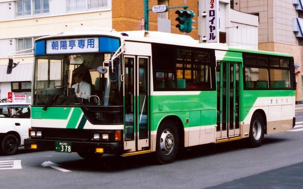 道北バス/三菱/U-MP618K