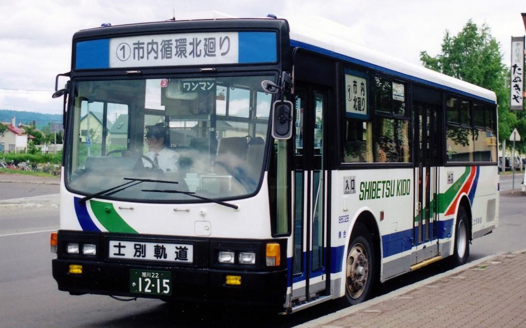 士別軌道/いすゞ/P-LV214K
