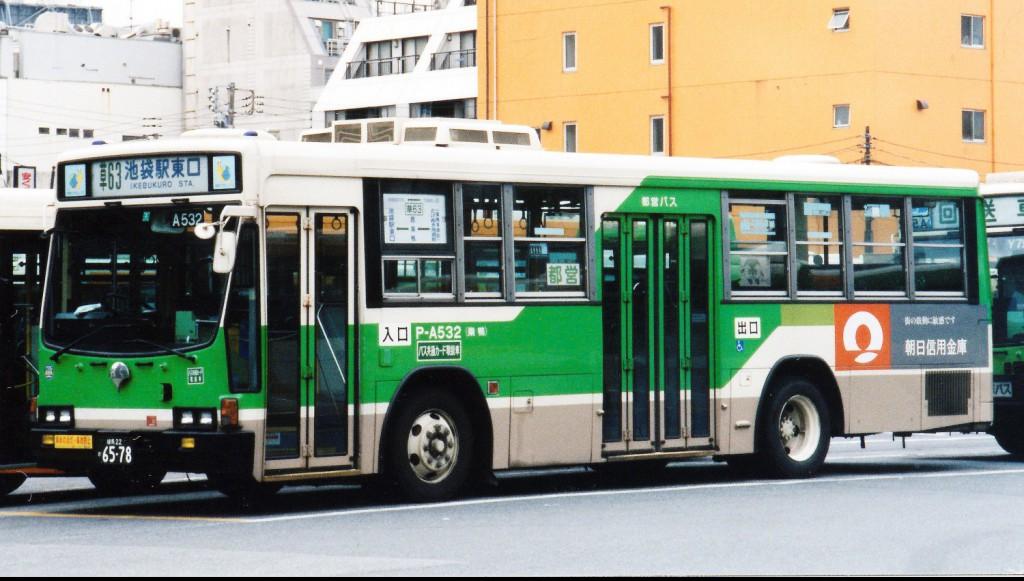 低床-らくらくステップバス