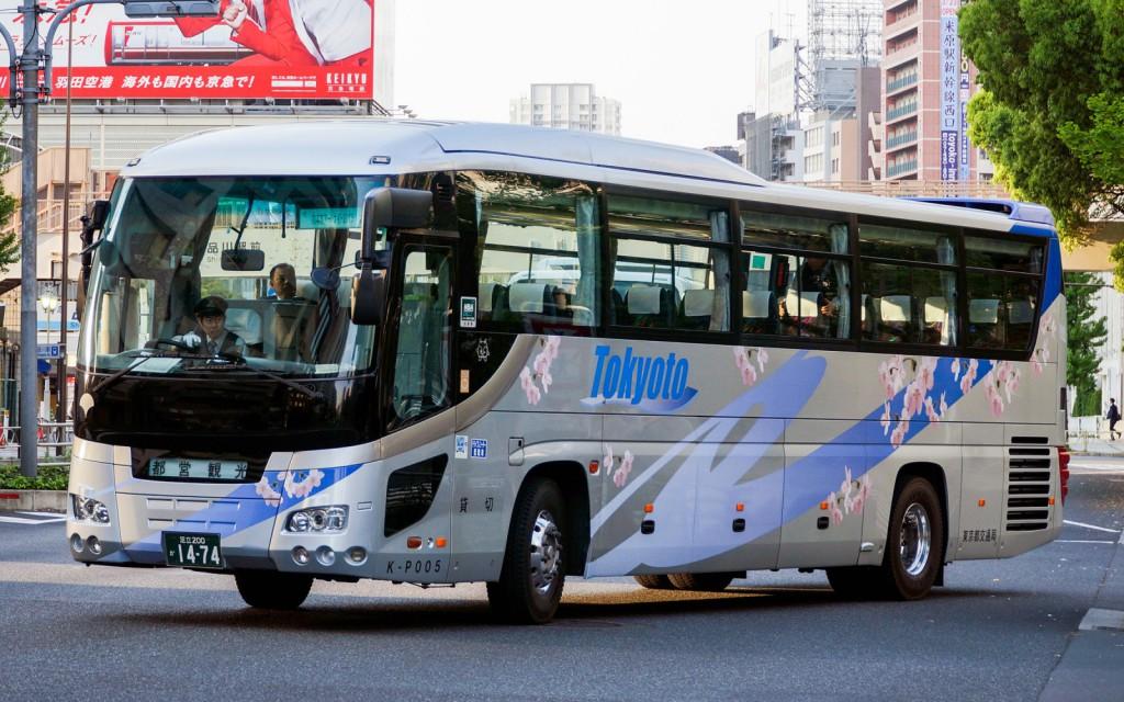 都営バスの塗装(貸切車)