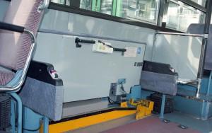 低床-リフト付超低床バス