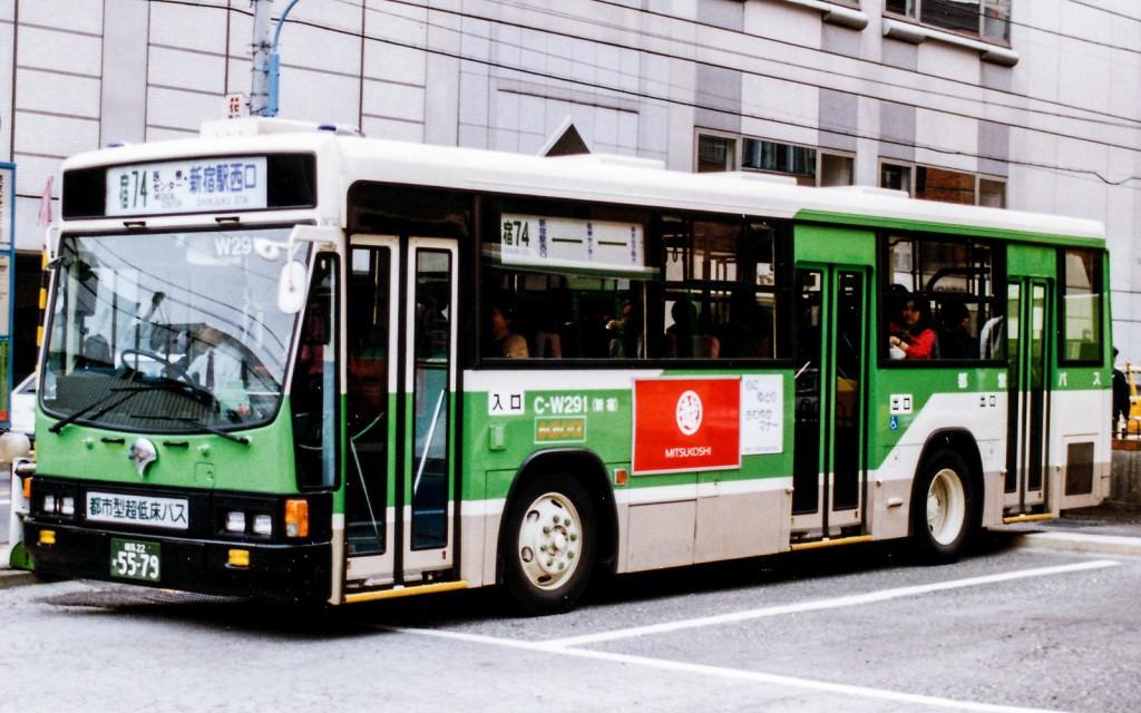 低床-都市型超低床バス