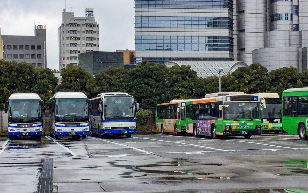新宿支所がジェイアールバス関東の休憩地に