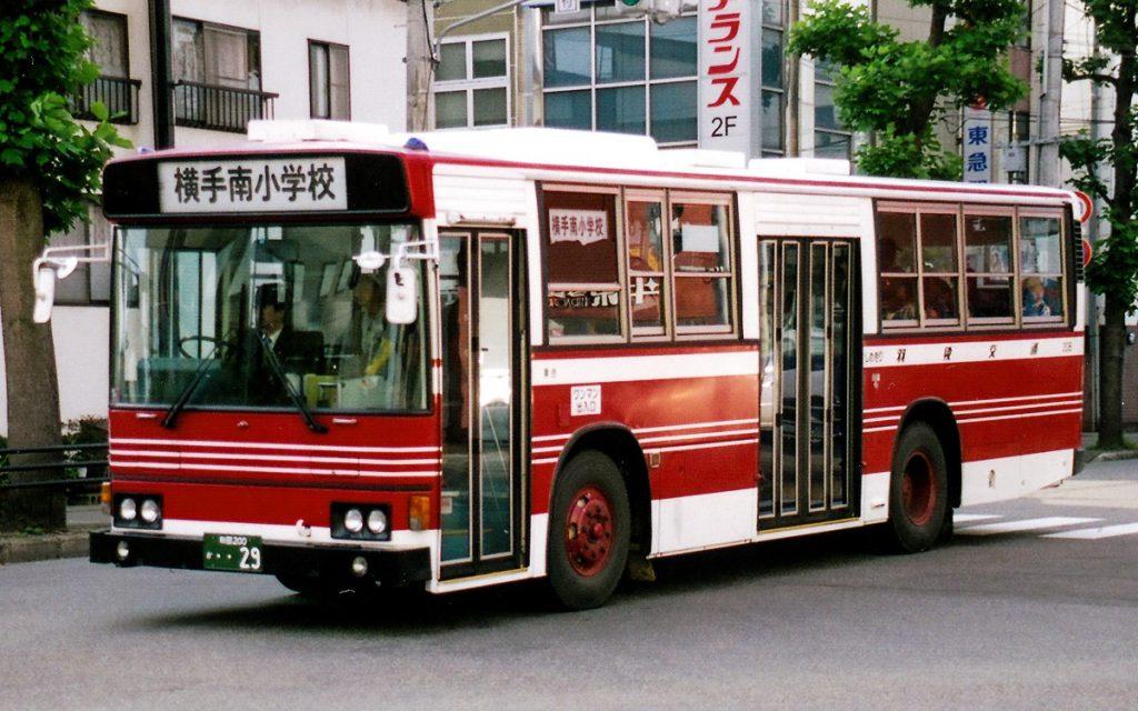 羽後交通/日野/P-HT233BA