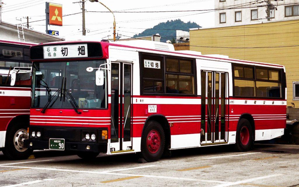 羽後交通/日野/P-HU233BA
