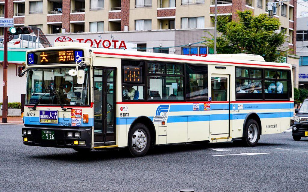佐世保市交通局→西肥自動車/日デ/KL-JP252NAN改