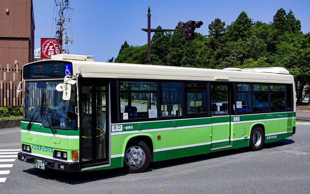 秋田中央交通/日野/KL-HR1JNEE