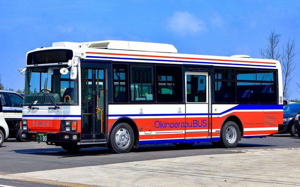 沖永良部バス企業団/いすゞ/PDG-LR234J2