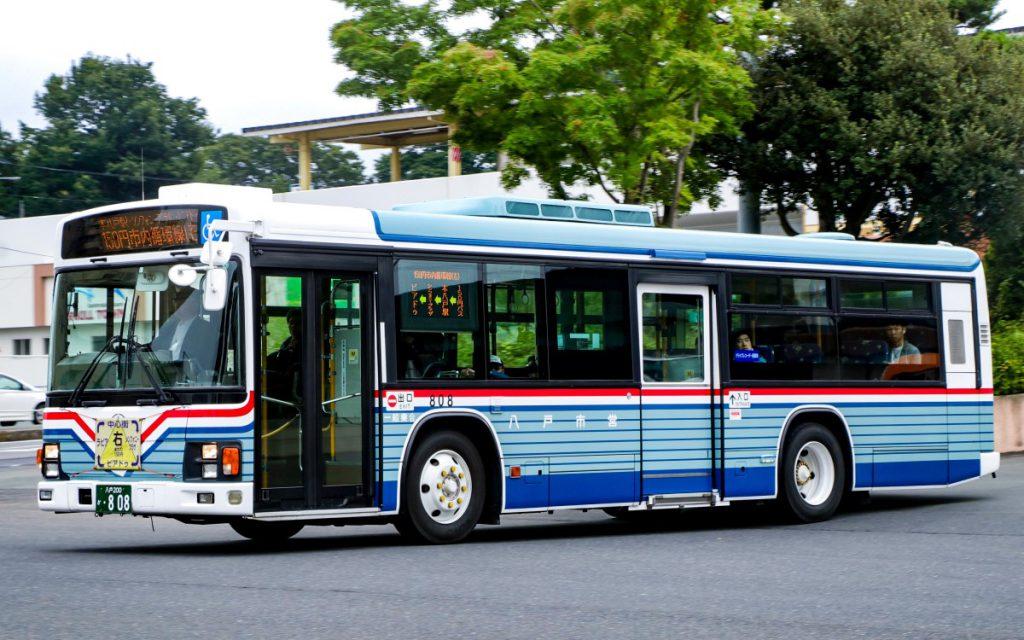 八戸市交通部/いすゞ/KL-LV834L1