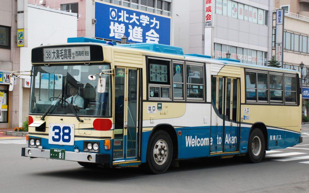 阿寒バス/日野/U-HT2MLAA