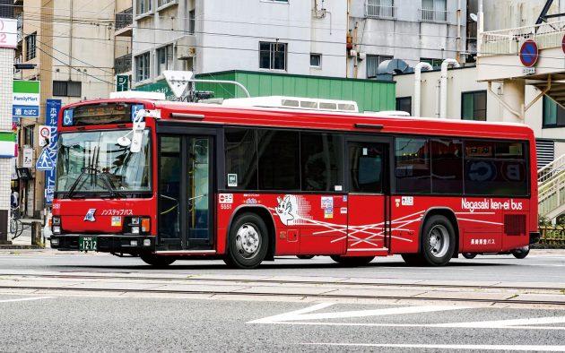 長崎県交通局/いすゞ/KL-LV280L1改