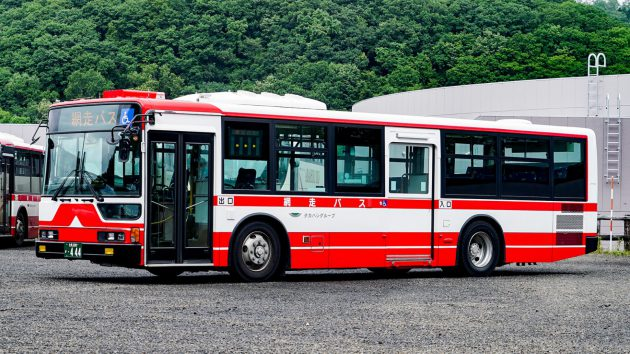 網走バス/三菱/KL-MP37JK