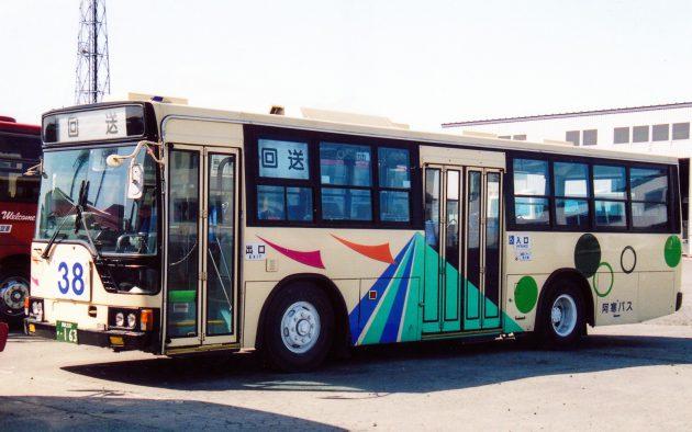 阿寒バス/三菱/U-MP218K