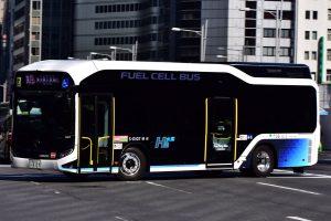 D代の燃料電池バスが納車(2/10現在)