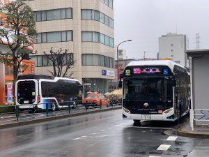 平成30年度(D代)の燃料電池バスが納車(3/4現在)