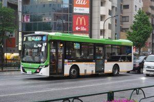 4/29、スカニア・フルフラットバスが全車営業を開始