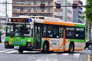 6/2、江東区環境フェアの送迎バス運転