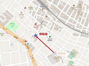 7/8より東長崎駅通り停留所を移設