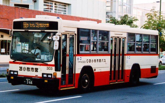 苫小牧市交通部→道南バス/いすゞ/U-LV324K(IKC)