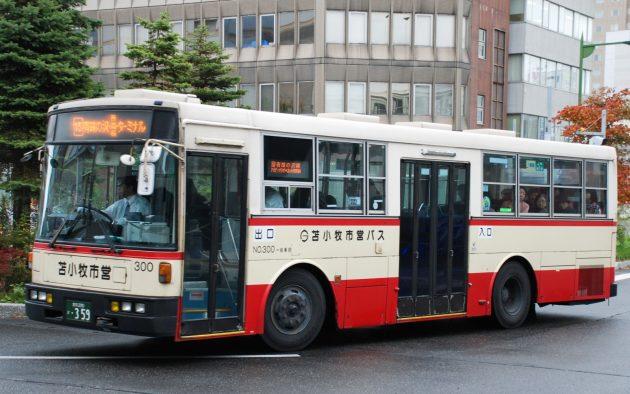 苫小牧市交通部→道南バス/いすゞ/U-LV324K(富士)
