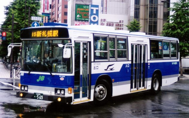 ジェイアール北海道バス/日野/P-HT233BA