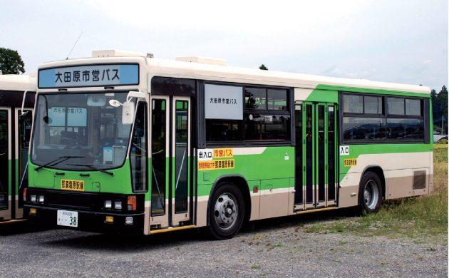 大田原市・康栄観光バス/いすゞ/KC-LV280L