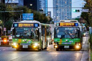 10/19, 20、江東区民まつりの送迎バス運転