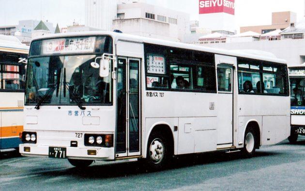 佐賀市交通局/三菱/P-MK117J