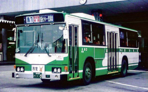 熊本市交通局→熊本都市バス/日野/P-HU233BA
