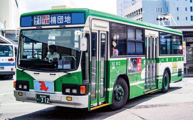 熊本市交通局→熊本都市バス/いすゞ/U-LV224K