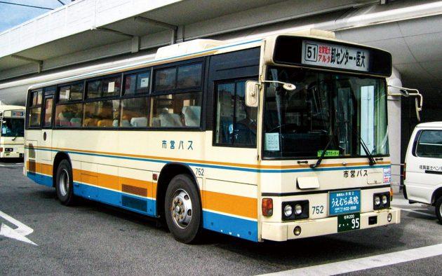 佐賀市交通局/日野/P-HU233BA